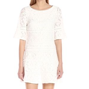NWT Adrianna Papell Margot Cross-dyed Lace dress